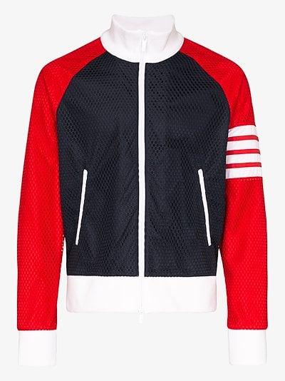mesh track jacket