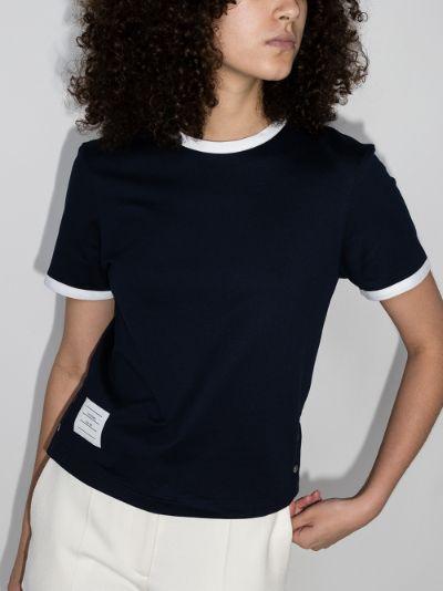 Ringer cotton T-shirt