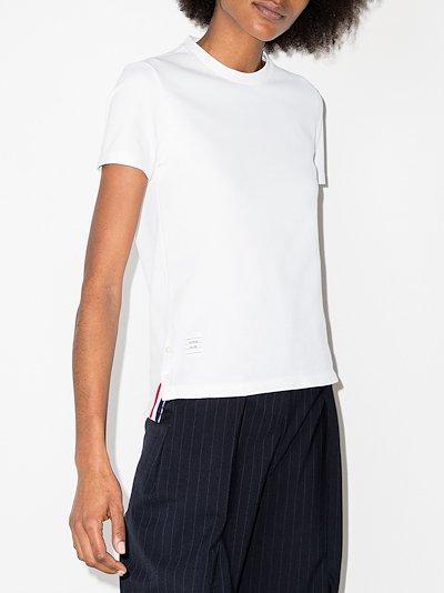 RWB stripe piqué T-shirt