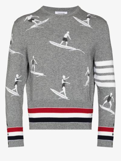 Surfer cashmere sweater