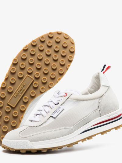 White Tech low top sneakers