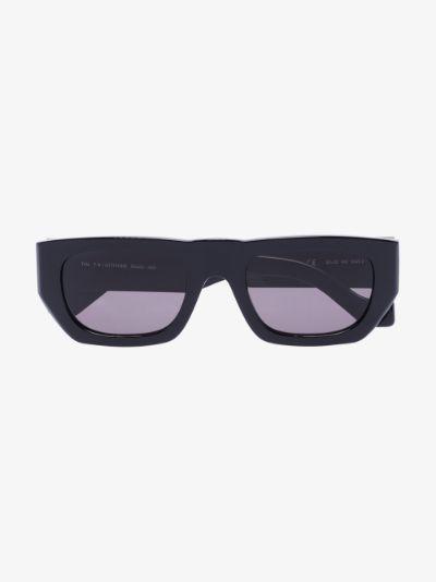 black Attitude rectangle sunglasses