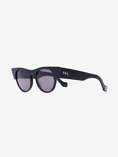 Black Icon cat eye sunglasses
