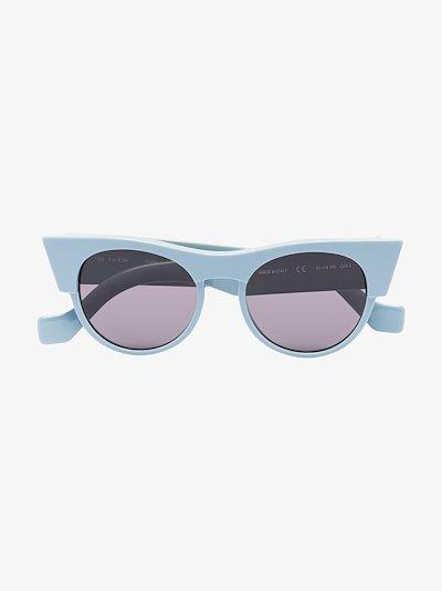 blue Icon cat eye sunglasses