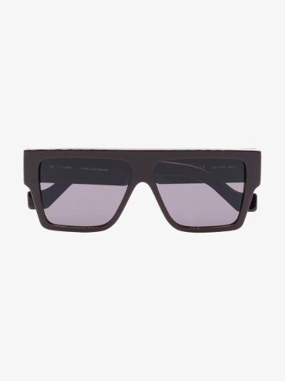 brown Lazer square sunglasses