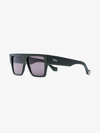 green Lazer sunglasses