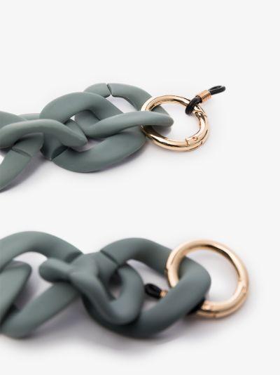 grey glasses chain