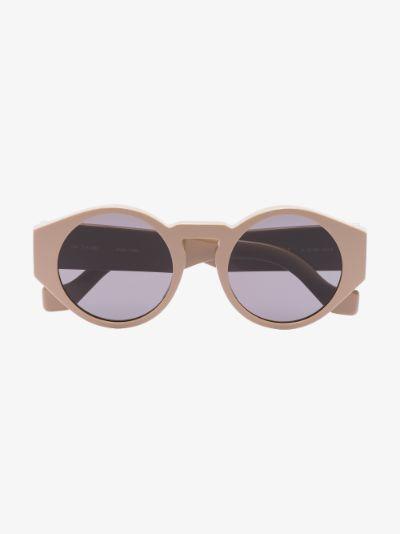neutral Disc round sunglasses