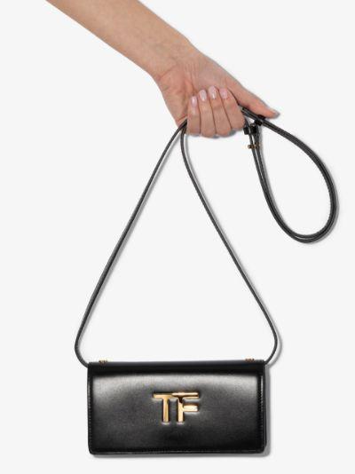 black box palmellato TF leather shoulder bag