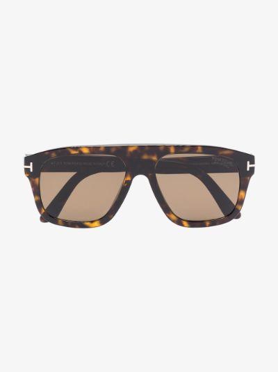 brown thor tortoiseshell sunglasses