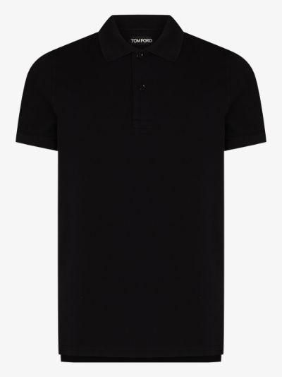 garment dyed cotton polo shirt