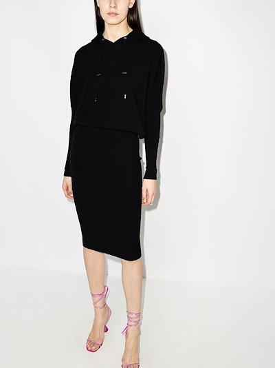 Hooded Midi Dress
