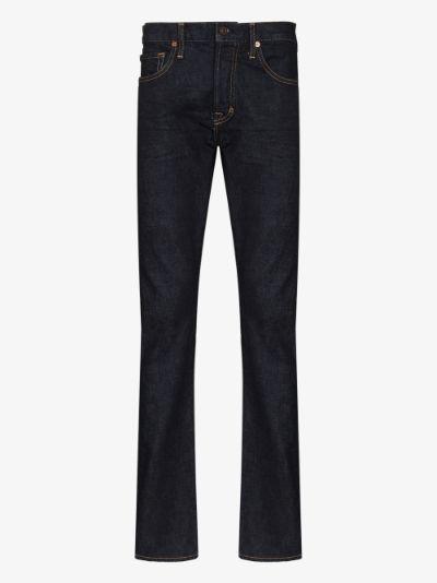 Japanese denim straight leg jeans