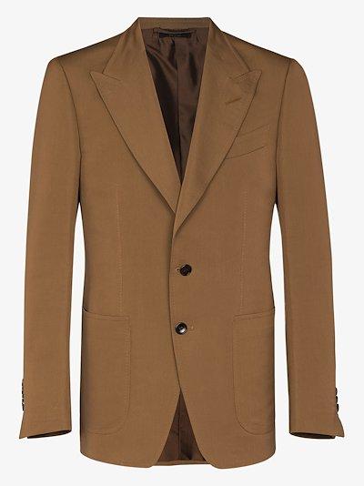 Shelton single-breasted blazer
