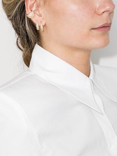gold-plated Liz crystal ear cuff