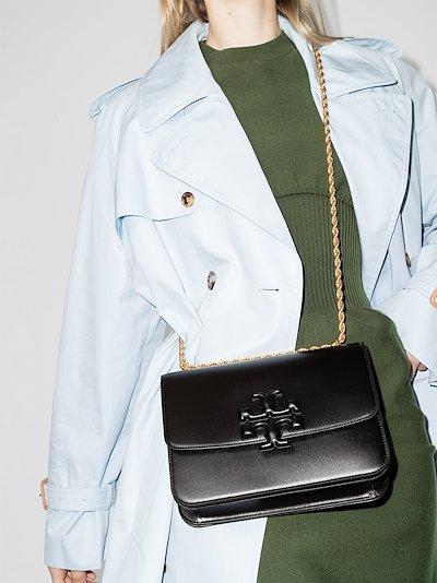 black Eleanor leather shoulder bag