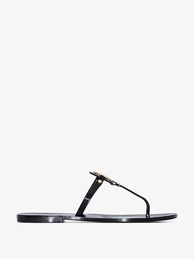 black Mini Miller sandals