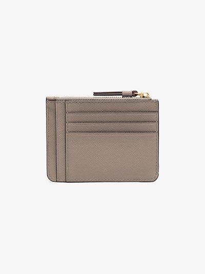 grey Robinson leather card holder