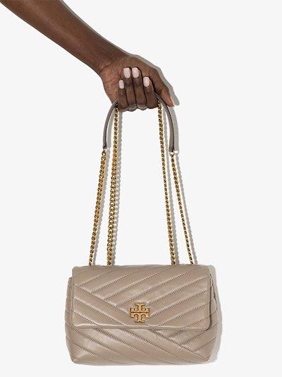 Neutral Kira Convertible Leather Shoulder Bag