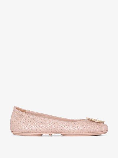 pink Minnie travel ballet pumps