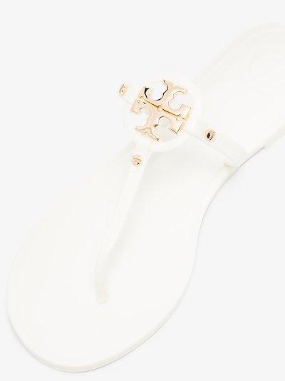 white Mini Miller sandals
