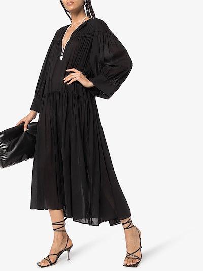 Alassio V-Neck Midi Dress