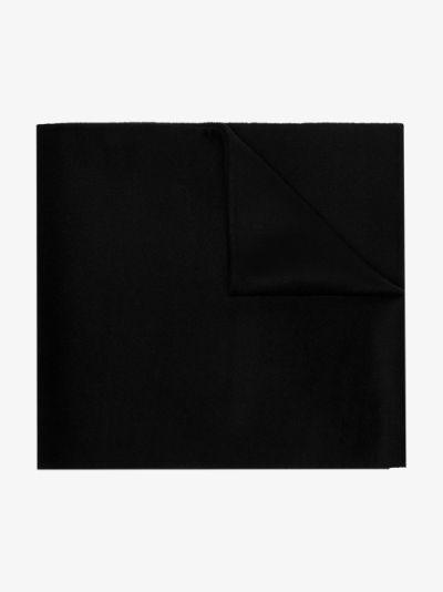black Simone wool scarf