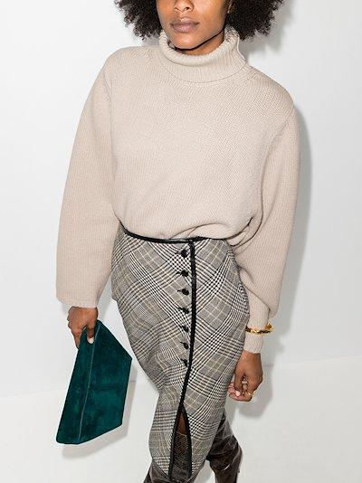 Cambridge roll neck sweater