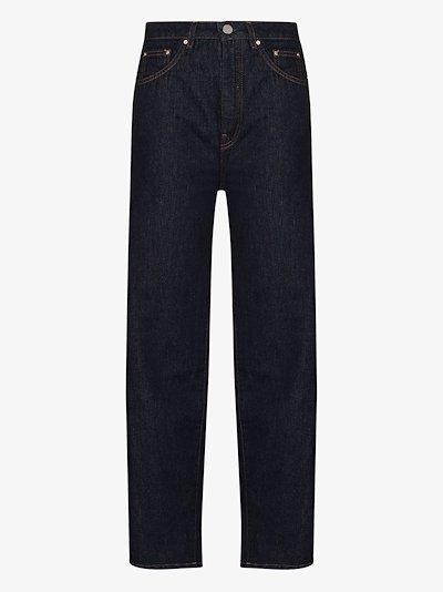 High Waist Barrel Leg Jeans