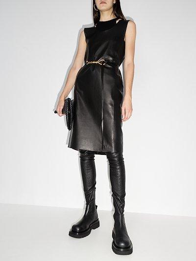 Mezel leather dress