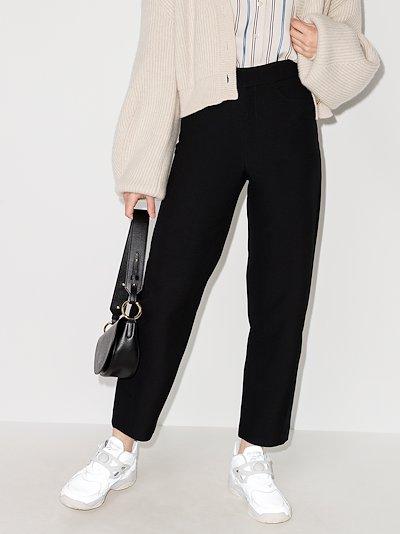 Novara cropped trousers