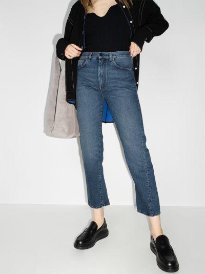 Original denim washed blue jeans