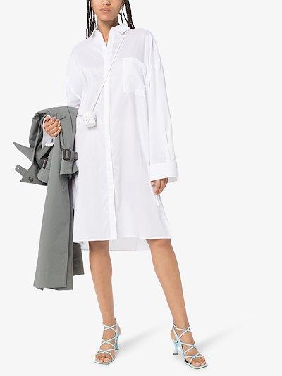 Pina cotton shirt dress