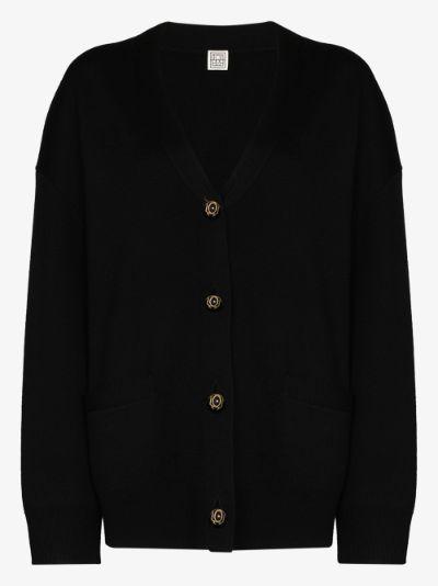 Vinci wool cardigan