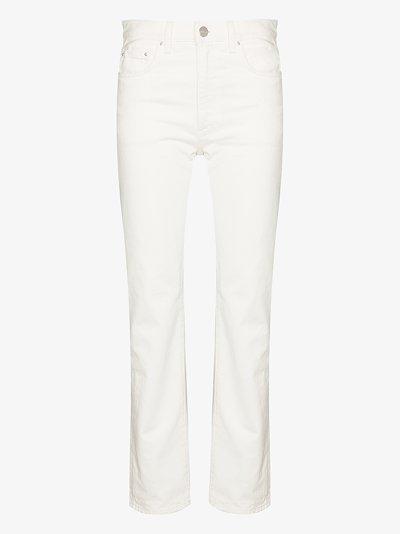 X Browns 50 Studio straight leg jeans