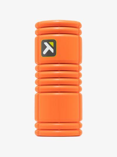 Orange GRID foam roller