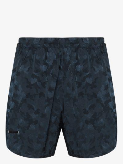Wild Steve Camouflage Print Swim Shorts