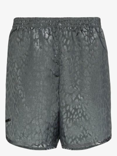 Wild Steve leopard print swim shorts