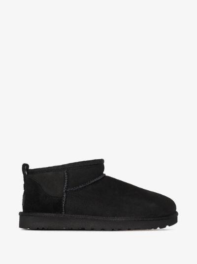 black Classic Ultra Mini ankle boots