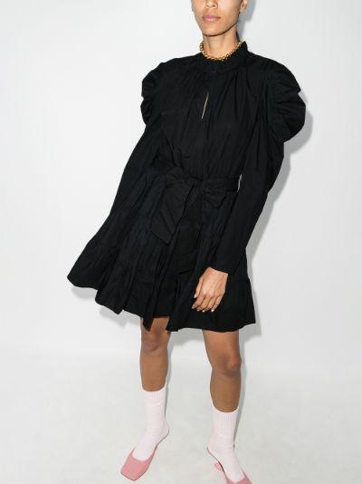 Naima puff sleeve dress
