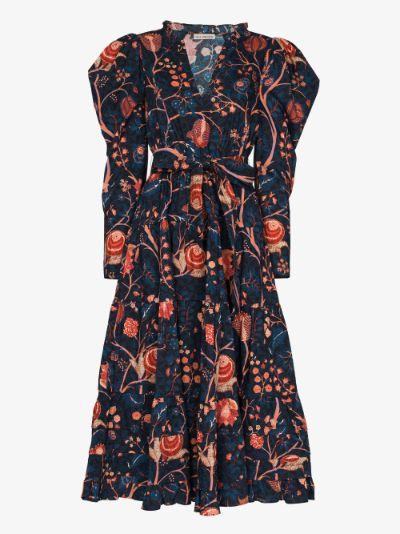 Nanette floral midi dress