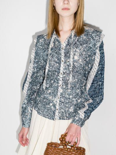 Nara printed blouse