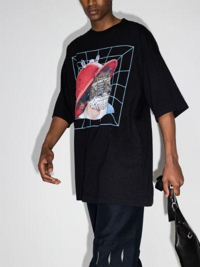 No Face Print T-shirt