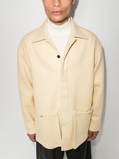 patch pocket shirt jacket