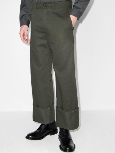 turn-up Hem Trousers