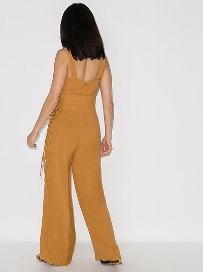 Gloria laced wide leg jumpsuit
