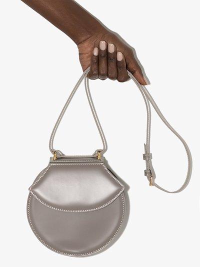 grey Henry leather cross body bag