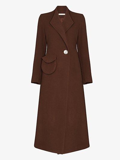 Natasha long wool coat