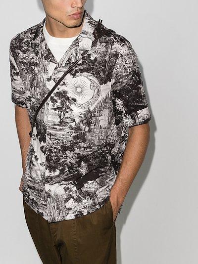 Dreamatic print cotton shirt