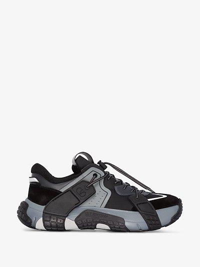 black and grey VLTN Wod sneakers